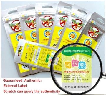 Kela Bear Moskito Armband 5PCS Mückenschutz Armband mücken armband mückenschutz Mücke armband Anti-Mücken Aufkleber-Patch (5 PCS) - 3