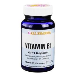 VITAMIN B1 GPH 1,4 mg Kapseln 30 St Kapseln - 1