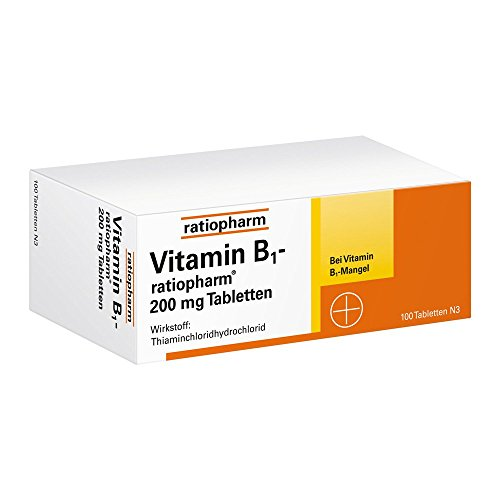 vitamin b1 ratiopharm 200 mg tabletten 100 st 1 m ckenschutz f r kinder. Black Bedroom Furniture Sets. Home Design Ideas