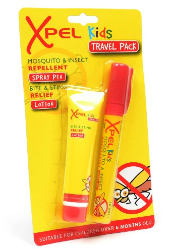 Xpel Kids Deet-Free Mosquito and Insect Repellent and Bite and Sting Relief Duo Pack by Xpel - 1