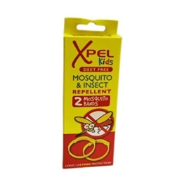 Xpel Kinder Mosquito & Insect Repellent Bands 2 Stück pro Packung 2 Pack - 1