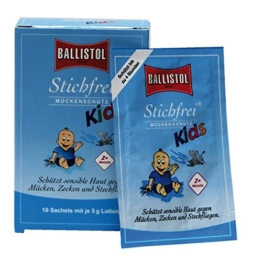 Ballistol Stichfrei Kids Sachet Box