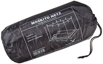 Black Crevice Moskitonetz