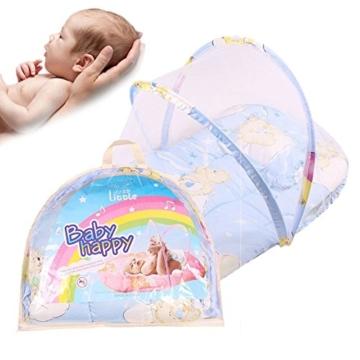 Sand S Clover 0 2 Jahre Faltbare Baby Bettwäsche Tragbare Folding Travel Kinderbett Bett Baby Baldachin Moskitonetz Anti Insekten Kinderbett Netz